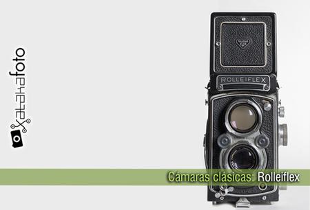 Cámaras clásicas: Rolleiflex