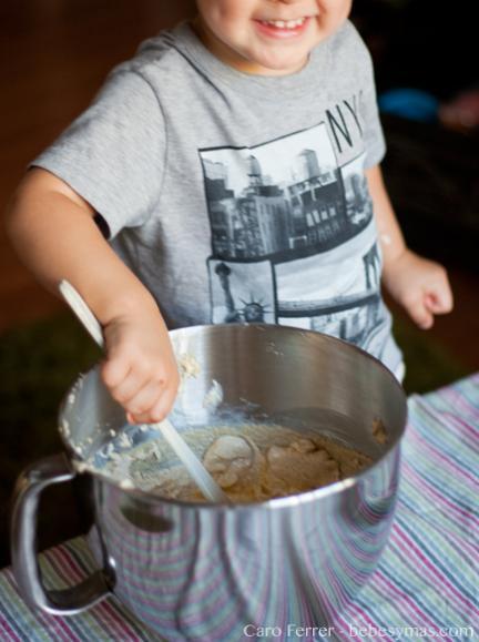 cookies con niños