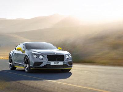 Bentley Continental GT Speed 2016: más potencia y nueva edición Black Edition