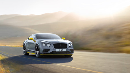 Bentley Continental GT Speed 2016: más potencia y nueva edición Black Edition
