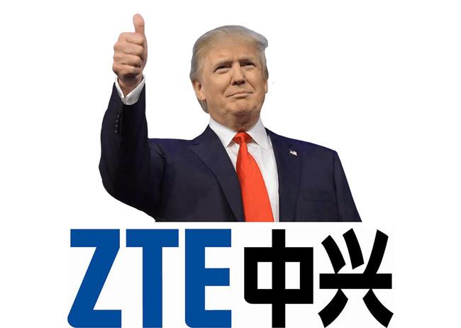 """Trump """"perdona"""" a ZTE: se levanta el bloqueo que le impedía comprar tecnología a EEUU (pero bajo sus condiciones)"""