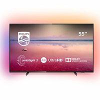 Smart TV de 55 pulgadas Philips 55PUS6704/12, con Ambilight en 3 lados y resolución 4K, a su precio más bajo en Amazon: 399,99 euros