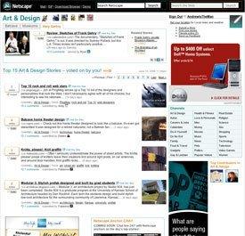 Netscape le echa una mano al cuello a Digg
