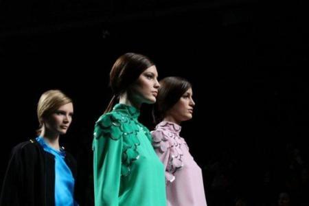 Miguel Palacio en la Cibeles Madrid Fashion Week Otoño-Invierno 2011/2012