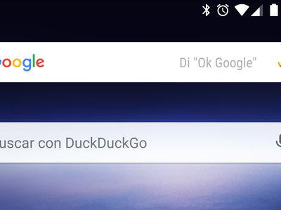 Cómo cambiar el motor de búsqueda de Chrome para Android y de su nuevo widget