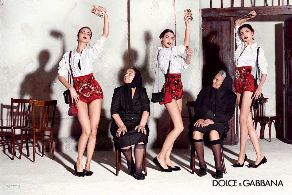Dolce & Gabbana campaña Primavera-Verano 2015