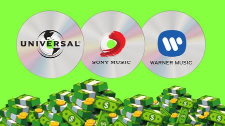 Las grandes discográficas no están muertas en la era del streaming: de hecho, están a punto de ganar más dinero que en la era dorada del CD