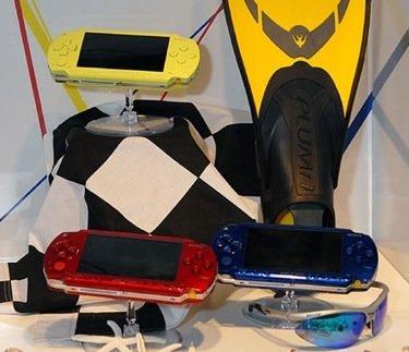 Prototipos de PSP de colores
