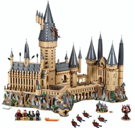 Lego sorprende a los fans de Harry Potter con una espectacular colección que recrea imponentes escenarios de la saga