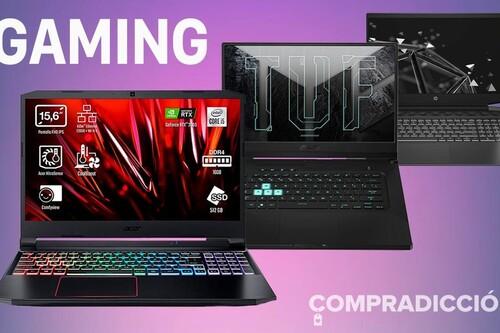 9 portátiles gaming de Acer, HP o ASUS que puedes encontrar más baratos ahora en Amazon