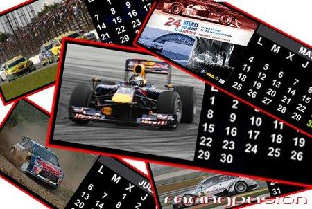 Agenda de Competición, del 14 al 16 de mayo de 2010