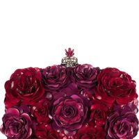 Clutch de rosas de Alexander McQueen