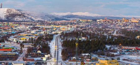 Kiruna, la ciudad que Suecia moverá tres kilómetros para evitar su derrumbe, ya tiene su primer edificio