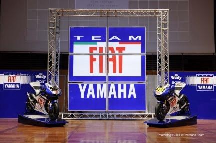 Team Fiat Yamaha, presentación equipo 2008