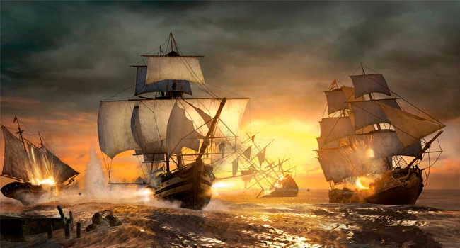 AC 3 combate naval