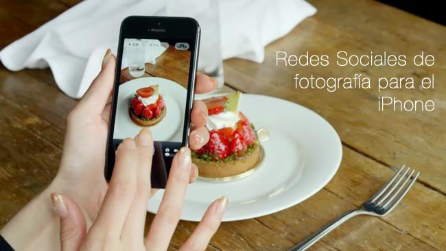 Redes Sociales de fotografía para el iPhone