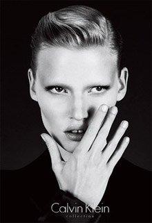 Lara Stone Calvin Klein ad