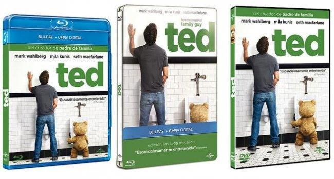 Ted en dvd y blu-ray