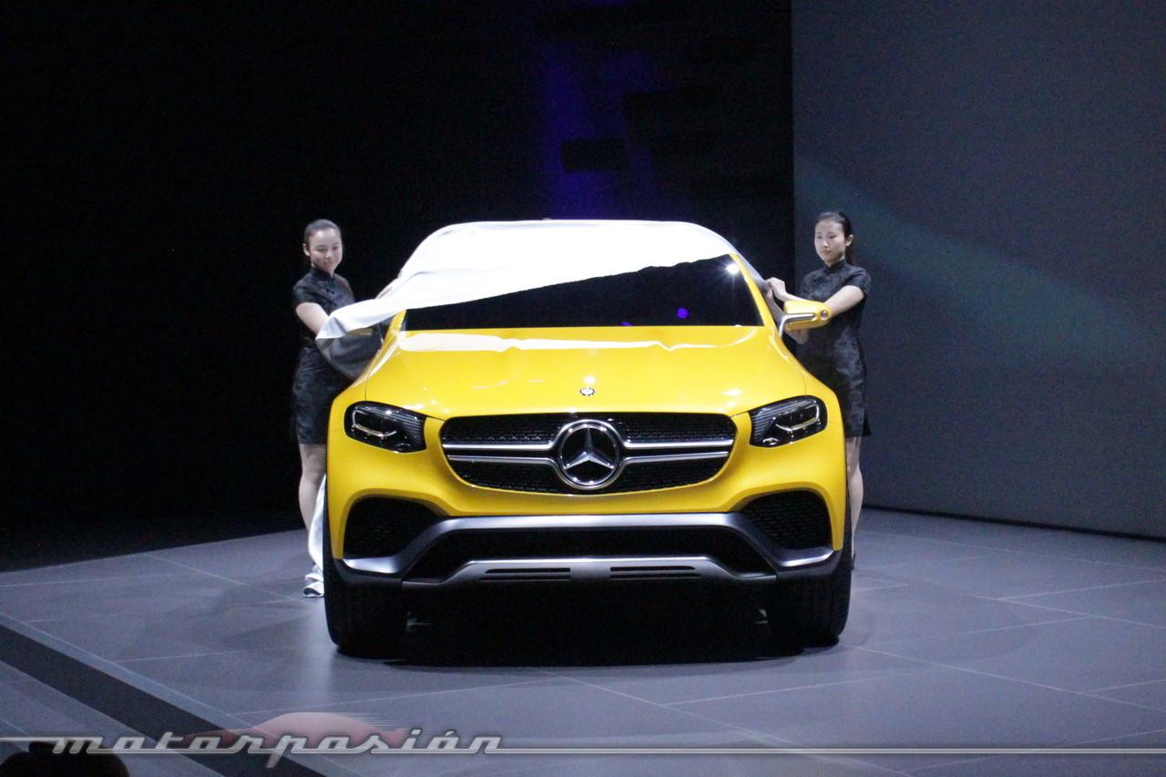 Foto de Mercedes-Benz Concept GLC Coupé (Premiere en Shangai) (11/26)