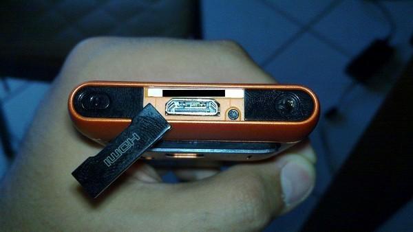 Foto de Nokia N8 naranja, batería (6/9)