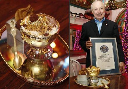 El helado más caro del mundo por 21.000 euros, el Frrozen Haute Chocolate