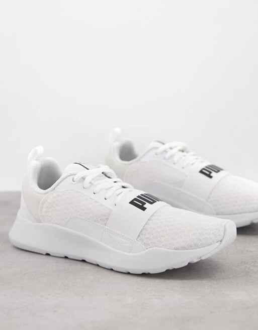 Zapatillas de deporte blancas Wired de Puma
