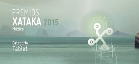 Mejor tablet, vota por tu preferido para los Premios Xataka México 2015