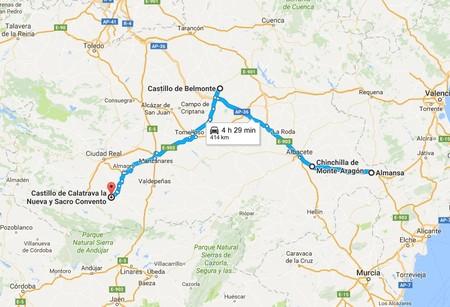 Ruta Castillos Albacete