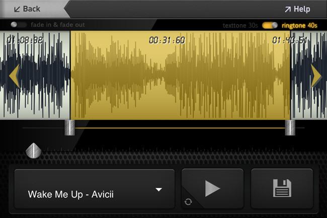 Convierte tu música en tonos de llamada - 3