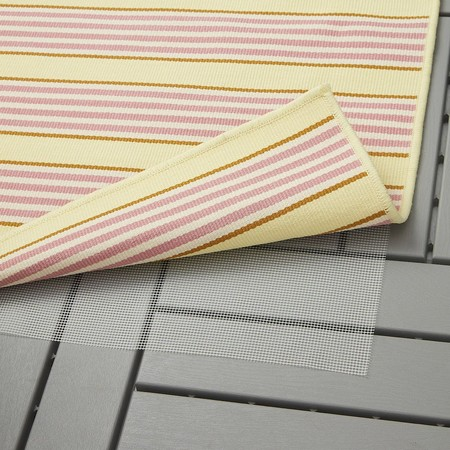 Sommar 2020 Rug Flatwoven In Outdoor Striped Pink Yellow 0767105 Pe753975 S5