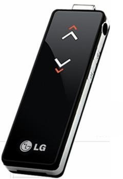 LG UP3Flat, reproductor de MP3 de la gama Chocolate