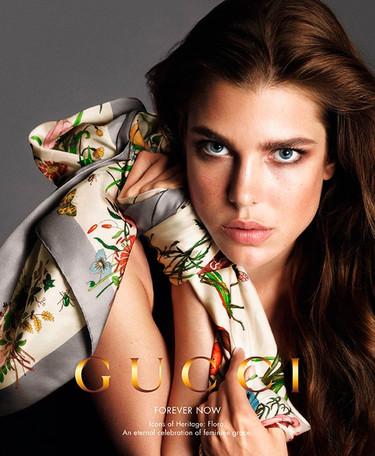 ¿Se puede ser más divina que Carlota Casiraghi para Gucci? Lo dudo
