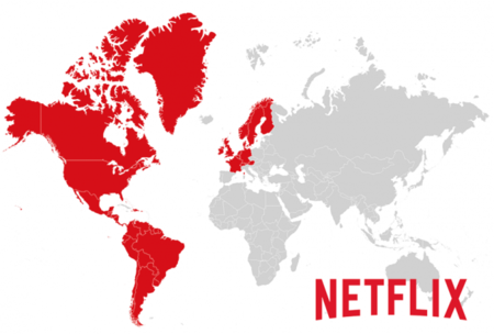 Netflix Map Countries