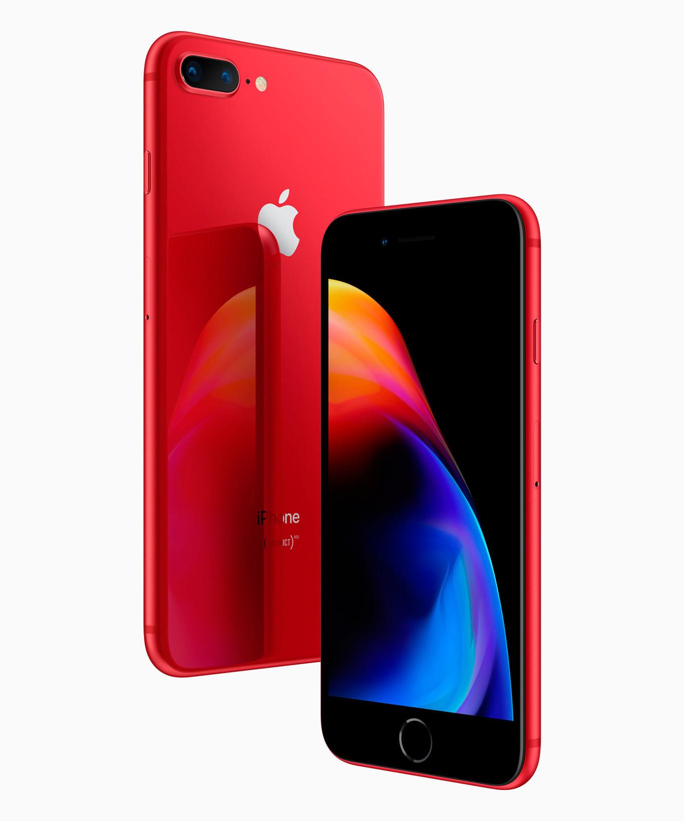 60b71e4d6c6 Nuevos iPhone 8 y 8 Plus (PRODUCT)RED: características, precio y ficha  técnica.