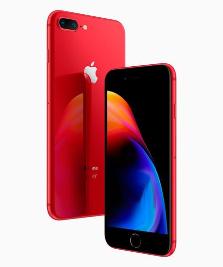 Nuevos iPhone 8 y 8 Plus (PRODUCT)RED: la segunda generación de iPhone que colabora en la lucha contra el VIH llega el 10 de abril
