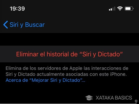 Eliminar Historial