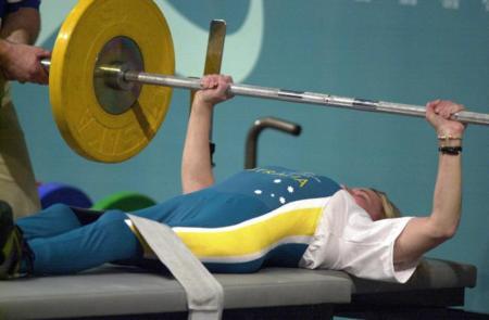 Powerlifter Suzanne Twelftree