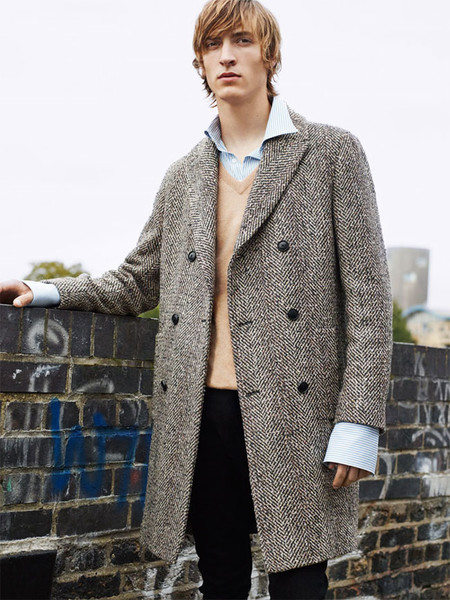 Editorial Coat Up de Zara
