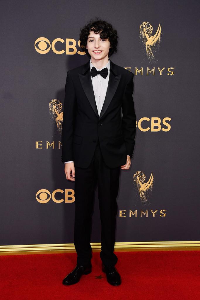 Finn Wolfhard Stranger Things Cast Red Carpet Emmys 2017 3