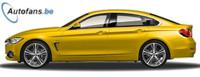 Comparativa visual entre el BMW Serie 4 Gran Coupé y la Serie 3