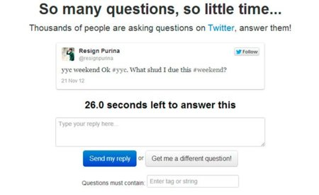 ¿No sabes qué hacer en Twitter? Responde a preguntas con You Asked It