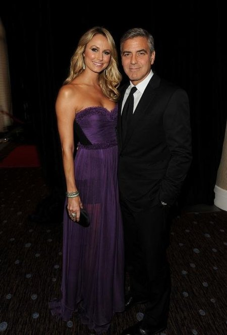 stacy keibler morado george clooney
