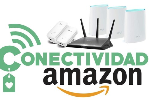 Ofertas de la semana en conectividad: Amazon te rebaja extensores, routers, sistemas WiFi en malla o switches de marcas como Netgear, TP-Link o Linksys