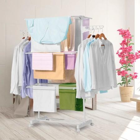 Con estos 13 tendedores, tender la ropa en el interior de tu casa no será un problema