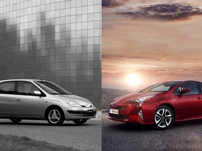 Prius Constellation: se cumplen 20 años del primer híbrido de Toyota