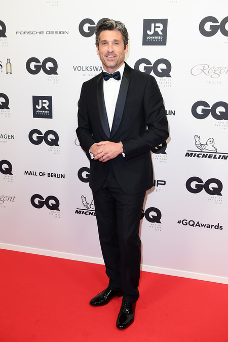 Patrick Dempsey Red Carpet Arrivals Gq Men Of The Year Award 2018