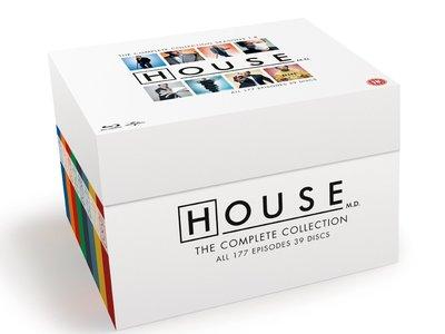 House, la colección completa en Blu-ray, por 47,99 euros en Zavvi