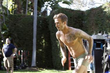 David Beckham vuelve para H&M underwear: tenemos el making off de la campaña