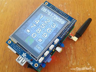 PiPhone, el teléfono móvil basado en la Raspberry Pi