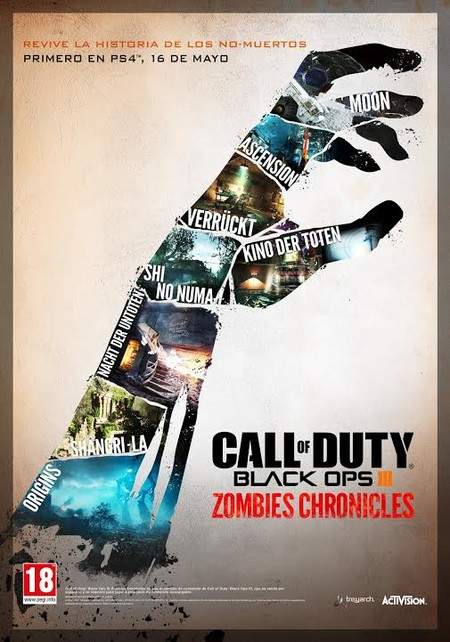 Call Of Duty Black Ops Iii Zombies Chronicles Box